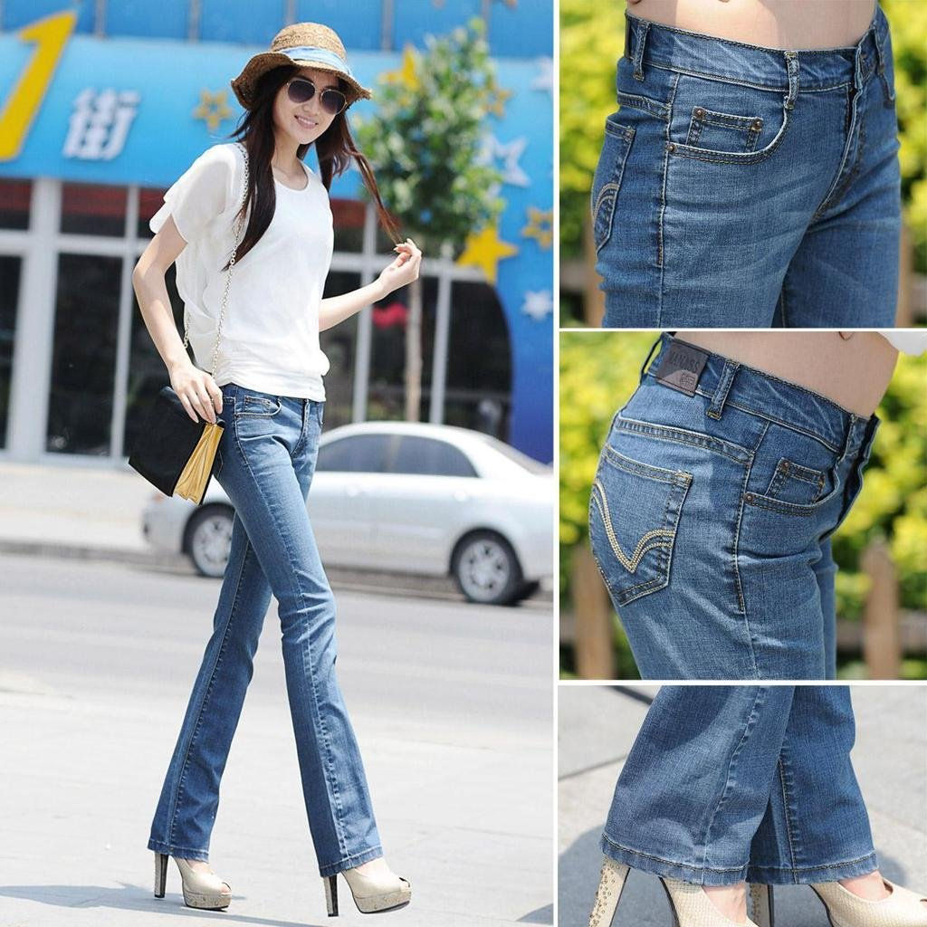 Skinny Bottom Jeans - Jeans Am