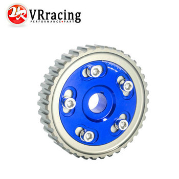 VR STORE-Adjustable Cam Gear Alloy Timing Gear FOR HONDA SOHC D15/D16 D-SERIES ENGINE CAM PULLEY PULLYS GEAR BLUE 1PCS PQY6542B