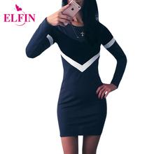 Buy Women Bodycon Dress Long Sleeve Sexy Office Dress Vestido De Festa Party Dresses Plus Size Women Clothing LJ5477R for $8.99 in AliExpress store