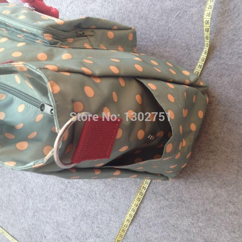 Медвежонок пеленки мешок ребенок большой емкости полиэстер горошек коляска беременным Bebe подгузник сумочки сумки
