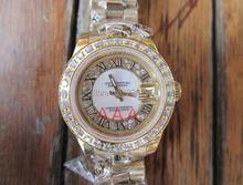 Acero inoxidable de acero inoxidable Ladies relojes 26 mm reloj relojes mecánicos de cerámica de cerámica 691331
