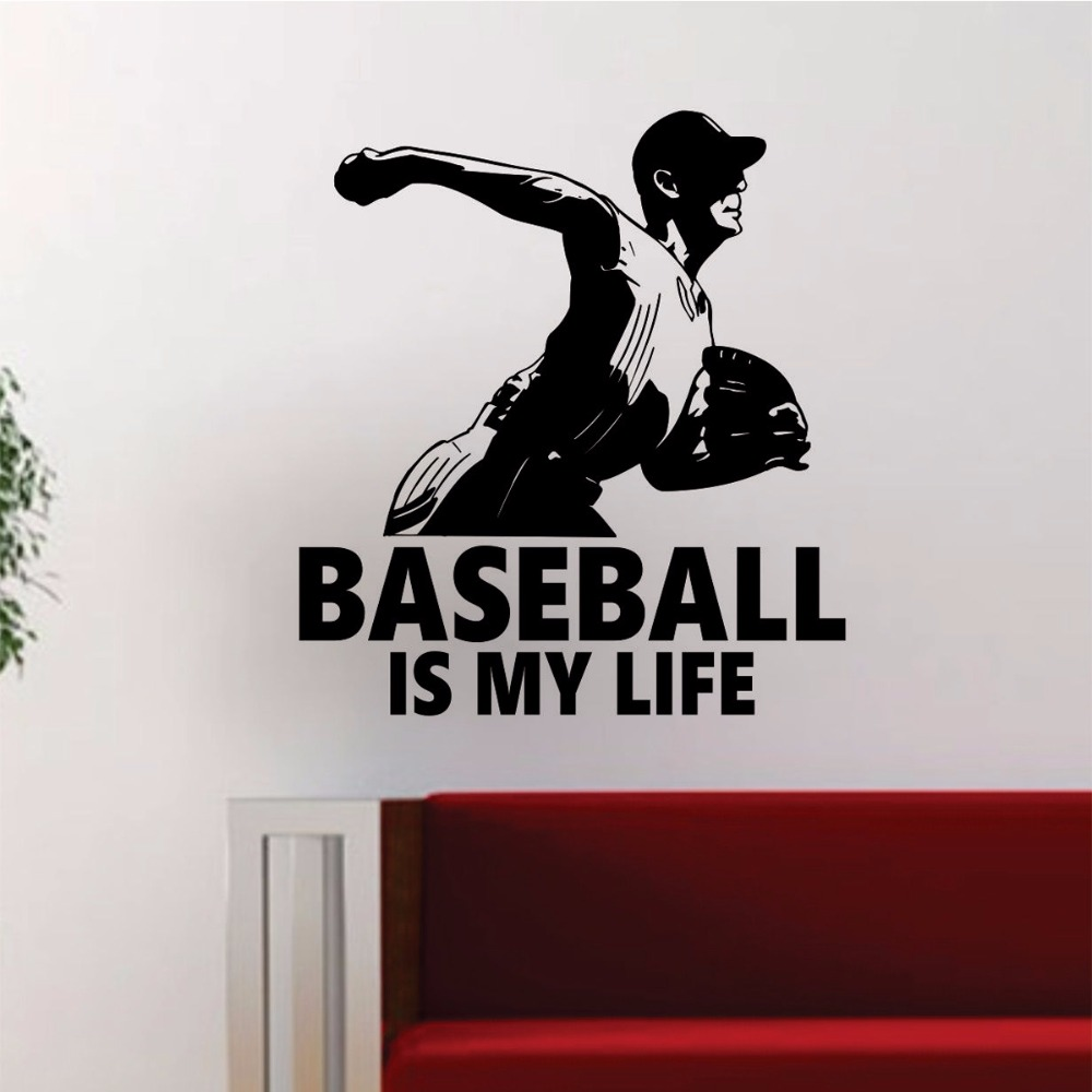 online get cheap baseball bedroom wallpaper aliexpress