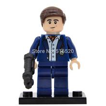 Wholesale DC Super Heroes Bruce Wayne Batman Minifigures Single Sale Building Blocks 20pcs/lot Set Models Mini Figures Toys