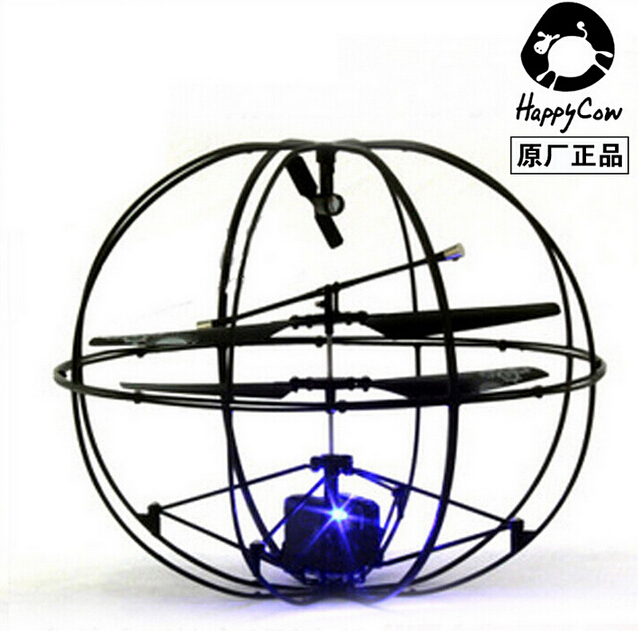 Robotic UFO 777-286 3.5-Channel I/R Flying Ball RC Helicopter Aircraft With Gyro Happycow Radio Remote Control TOYS<br><br>Aliexpress