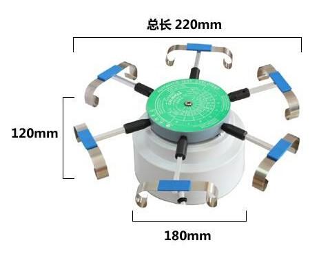 240 В Automic Испытаний Cyclotest Часы Тестер Часы Тестовой Машине-смотреть намотки в течение шести часов в одно время