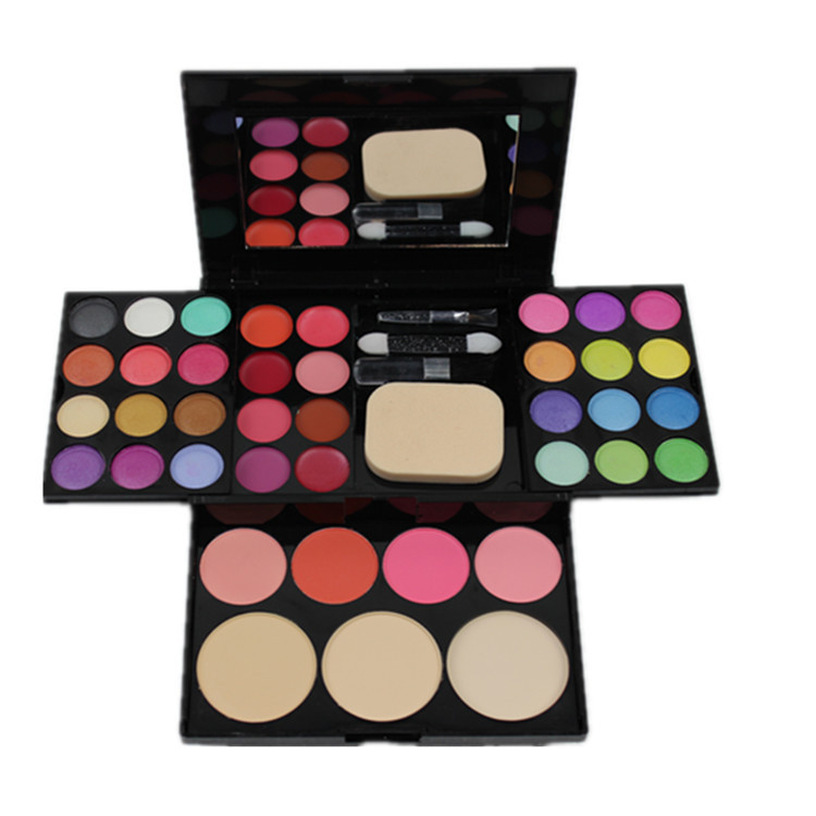 Make-up compact makeup palette 24 Eyeshadow plate 8 lipstick 4 blush Makeup Sets maquiagem compact Makeup Kit makeup set