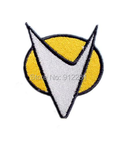 100pcs/lot Star Trek The Next Generation Communicator Logo Uniform Embroidered Iron on Patch, Children DIY Clothing Accessories(China (Mainland))