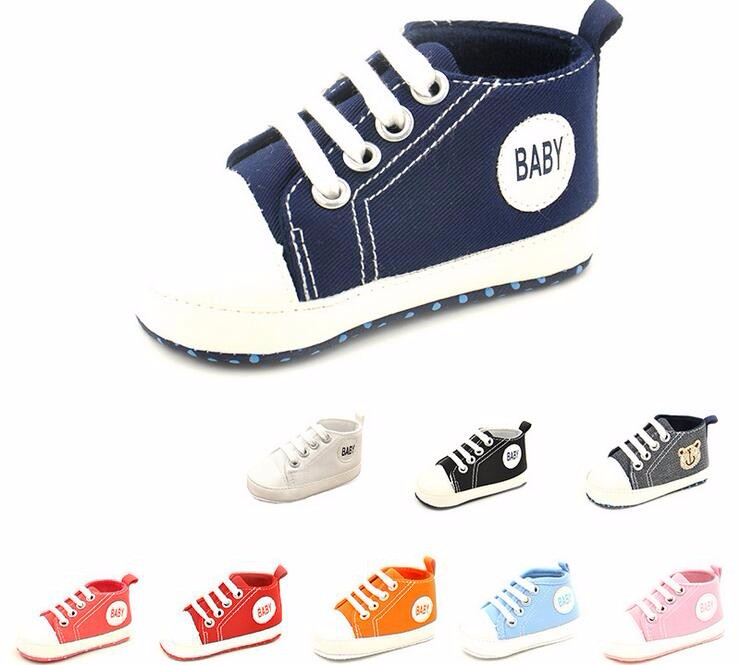2016 Hot Sale Baby Shoes Boy And Girl First Walker Cotton Shoes Soft Sole Babe Shoes All Seasons Bay First Walker