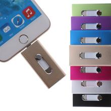 Usb Flash Drive 8gb Usb Stick 32gb Pen Drive 64gb Usb Stick 16gb OTG External Storage For iPhone 5/5s/5c/6/6 Plus/for ipad