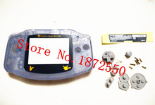 Band New Clear Color Housing Case For Nintendo GB GBA Gameboy Advance Poke mon Pi kachu Plastic Screen Lens(China (Mainland))