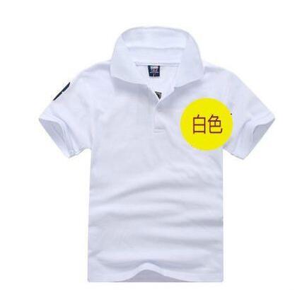 2016 Summer brand t shirt boys girls t-shirts kids polo Shirts children classic Sport cheaper tees short sleeve clothing 2-14yrs(China (Mainland))