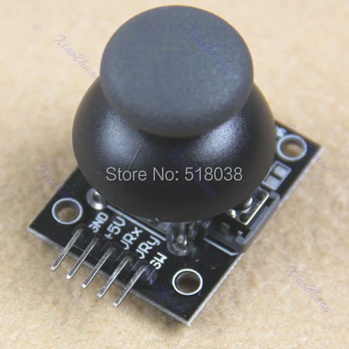A25 New Hot Sales Joystick Game Controller JoyStick Breakout Module For Arduino Free Shipping(China (Mainland))