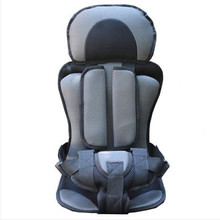 Potable Baby Car Seat Safety,Seat for Children in the Car,9 Months -- 12 Years Old, 9--40KG,Free Shipping,Child Seats for Cars(China (Mainland))