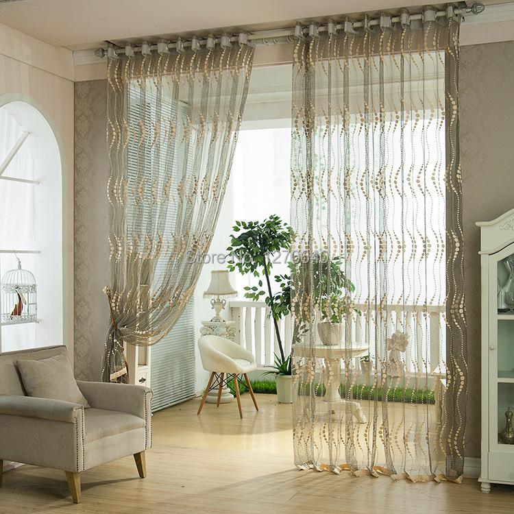 lush decor ring mesh drapes room dividers chic jacquard sheer curtains