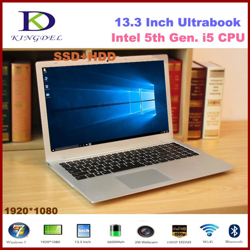2016 New model 13.3 inch Core i5-5200U Dual Core Mini ultrabook laptop, 8GB RAM 128GB SSD, WIFI, Bluetooth,Metal Case,Windows 10<br><br>Aliexpress