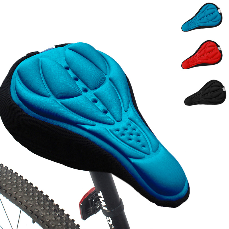 ROBESBON 3D Upset MTB Road Bicycle Saddle Bicycle Parts Cycling Seat Mat Comfortable Cushion Soft Seat Cover Pad For Bike(China (Mainland))