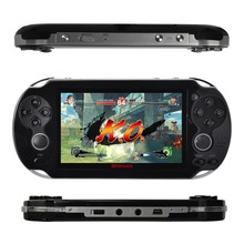 New 2014 4GB Handheld Game mp5 Player mp3 Player mp4 Player With Dual Joystick Camera FM TV-Out Portable shock Game Console(China (Mainland))