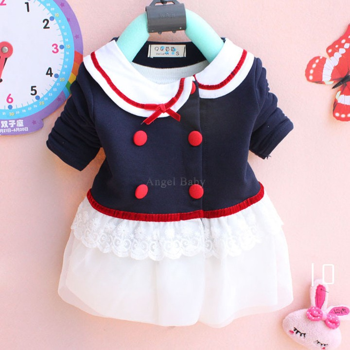 Summer Style Infant Kids Clothes Girls Long-sleeved Lace Dress Plus Size Kids Clothing L-XXXL 2015 Hot New Arrival Autumn(China (Mainland))