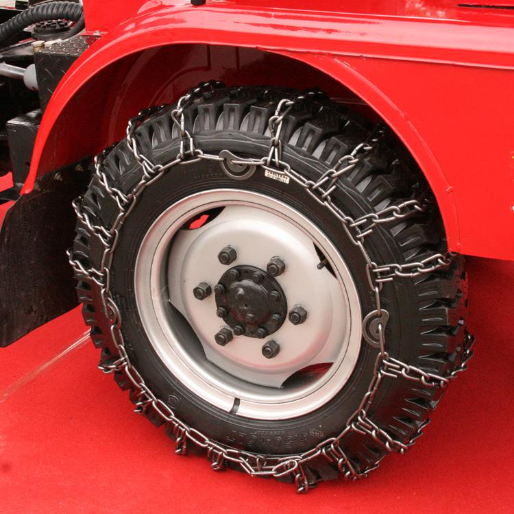 65016 трактора металлический диск , посвященный одна пара снег цепи установлены жирный титана цепи