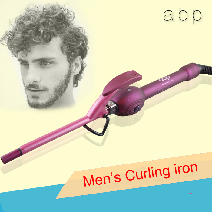 Men Curling Hair Black Hairstyle And Haircuts