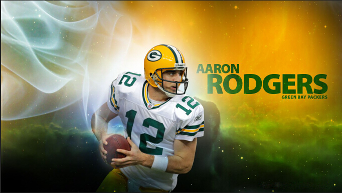 90x150cm Aaron Rodgers Green Bay Packers Flag Polyester Football Team support Banners(China (Mainland))