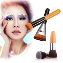 Beauty Makeup Brushes for Pro Angled Flat Top Head Oblique Brush Cosmetic for 163 Flat Contour Brush maquiagem profissional