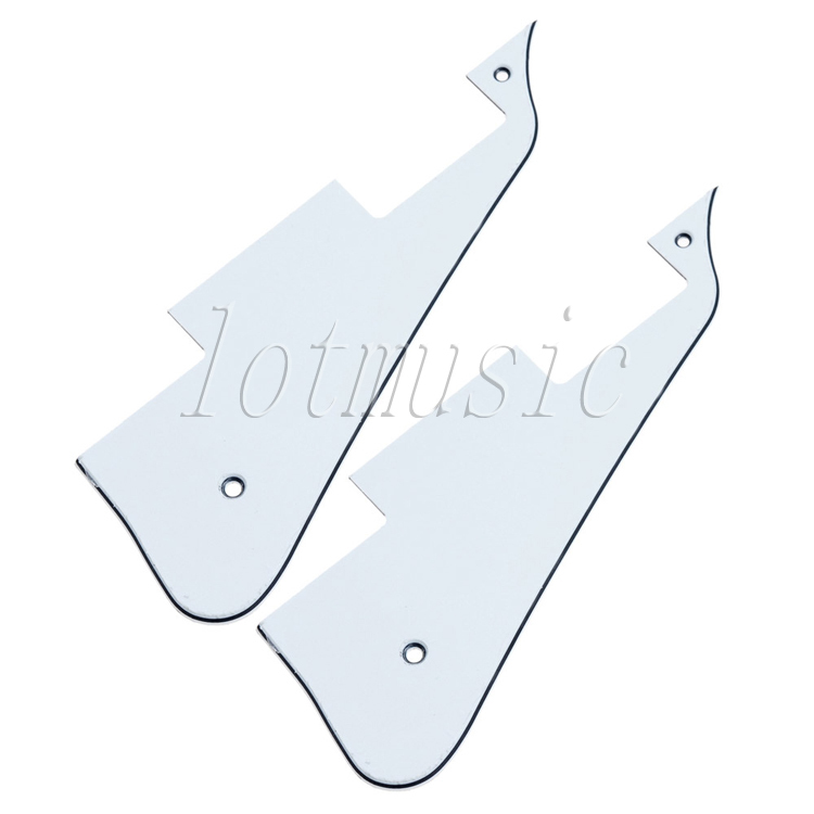New-2PCS Pickguard For ELECTRIC Guitar Parts Custom 3ply(China (Mainland))