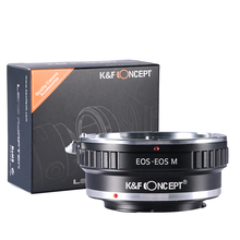Buy K&F Concept Lens Mount Adapter Canon EOS Canon EOS M EF-M Mount Mirrorless Camera Adapter for $20.02 in AliExpress store