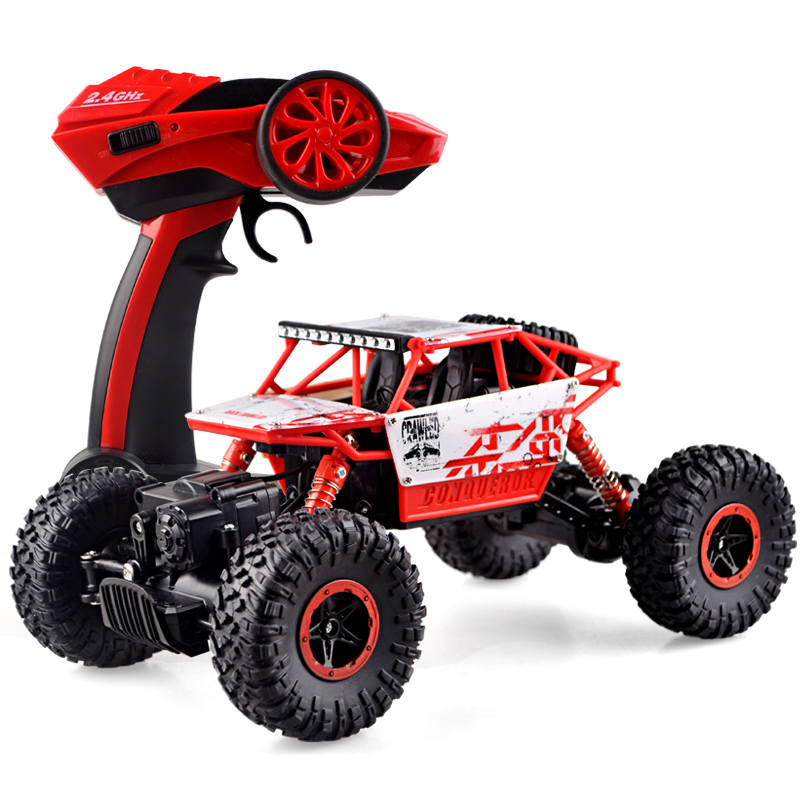 2.4G remote control four-wheel drive off-road vehicles Rock climbing monster truck High performance remote control car(China (Mainland))