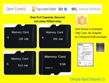 100pcs/lot  micro 128MB 256MB 512MB 1GB real full capacity small sd card Memory card tf card Factory wholesale (China (Mainland))