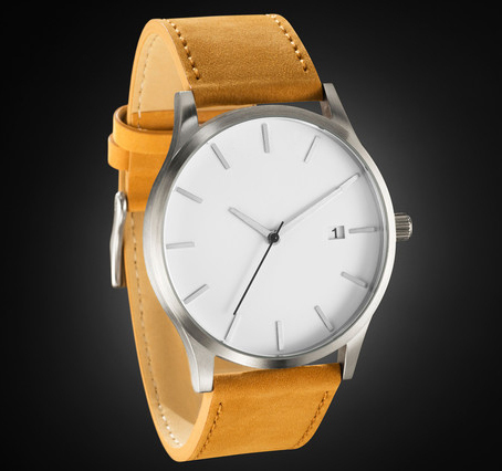 online buy whole mens watches leather band 28cm from quartz movement tan leather band new design men watch relogios style no dropship watches relojes