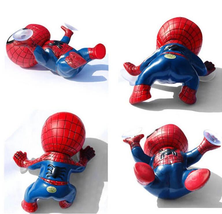 New 3D Spider Style with Suckers Car Head Rear Windows Stickers Exterior Accessories Auto Ornament Doll