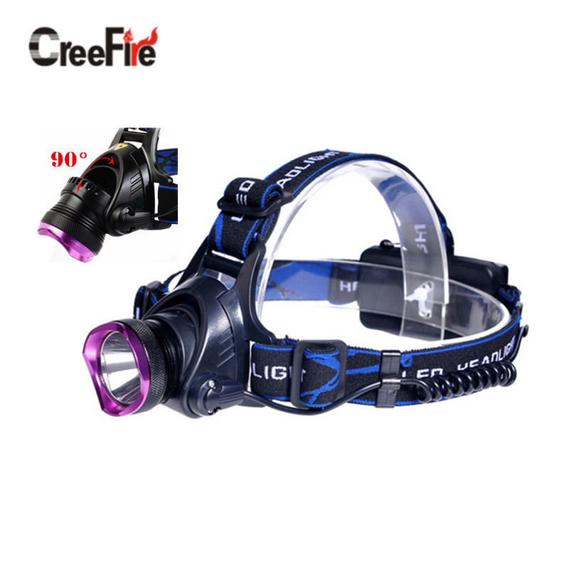 H2 High-quality XPE LED headlamp 3 Modes 2000 lumen head lamp Head Light Outdoor Camping use 18650 battery(China (Mainland))