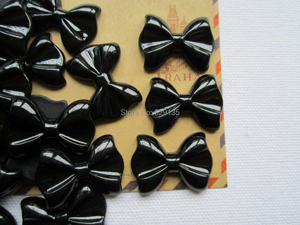 Free Shipping! Min. order is $10 (mix order), Resin Bow, Resin Flatback Flat Back Cabochons for Hair Bow Center, DIY (20*28mm)(China (Mainland))