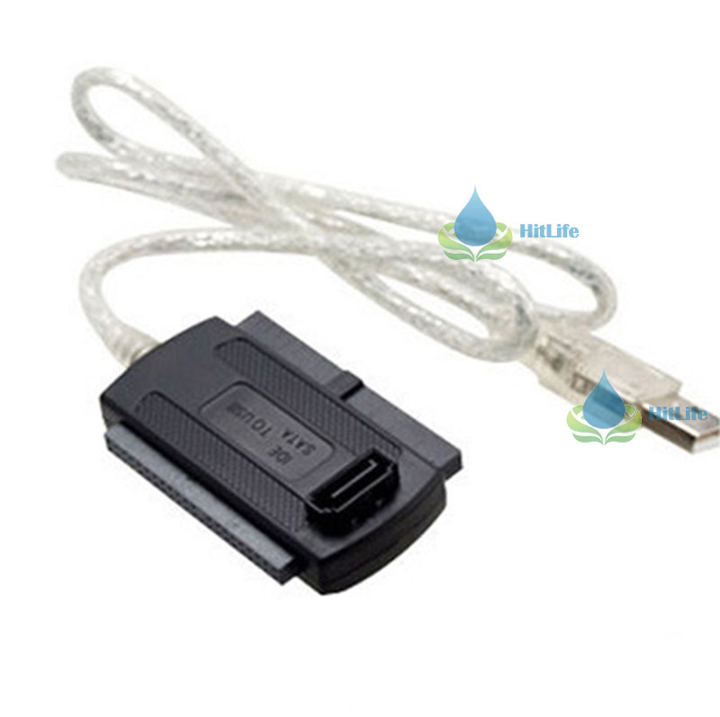 LinneaEnjoy hot promotion! USB 2.0 to IDE SATA 2.5 3.5 Hard Drive Converter Cable selected(China (Mainland))