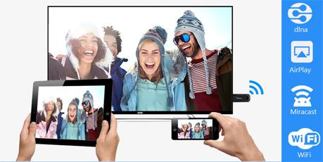 2016 EZcast TV Stick OTA Dongle EasyCast Miracast Wi-Fi Display Receiver DLNA Airplay Miracast Airmirroring Wireless display