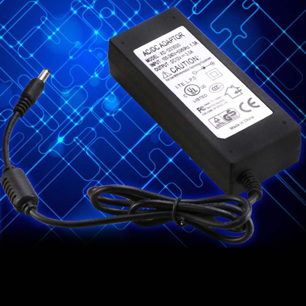 Universal 12V 5A AC Power Supply AC Adapter Charger For LED Light CCTV Camera power adapter 12v ac power cord(China (Mainland))