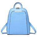 2016 Korean style backpack travel leather mochila hiking tactical women bag preppy style laptop bagpack school