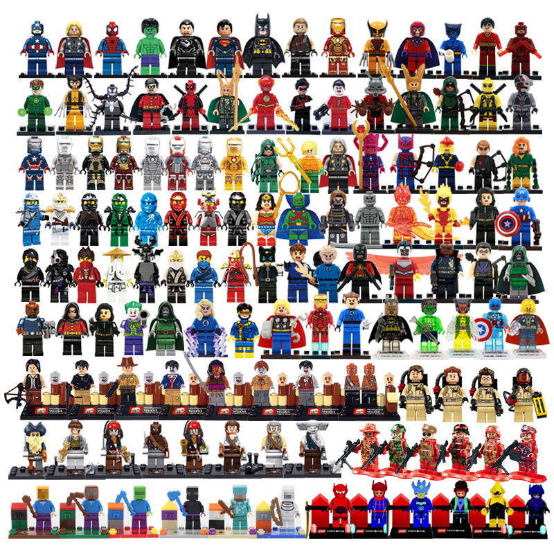 Free shipping 8pcs STAR WARS TMNT Avengers TV figures super hero minifigures building blocks sets model bricks toys baby toy(China (Mainland))