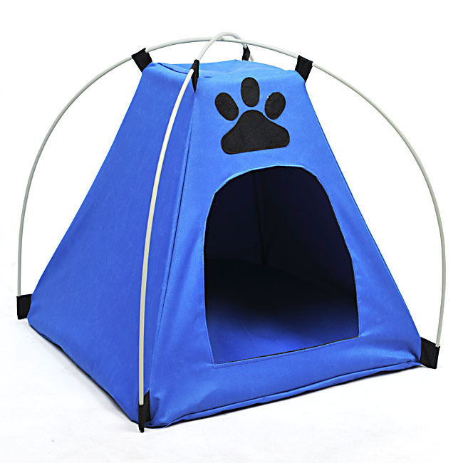 Dog Cat House Pet Waterproof Tent With Footprint House Kennel(China (Mainland))