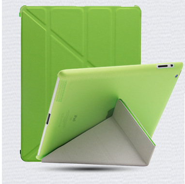 High quality PU Leather Protective shell Skin/Case Cover/ fundas para for Apple Ipad 2/3/4 Tablet PC free shipping(China (Mainland))