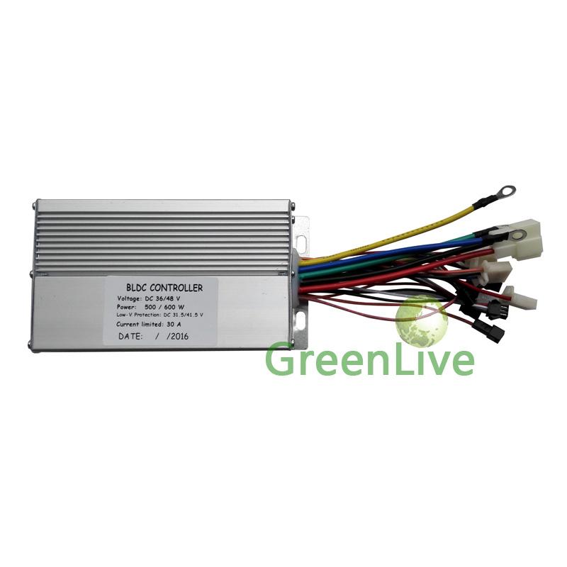 E-bike 36V/48V 500W/600W 12 MOS Brushless DC motor controller<br><br>Aliexpress
