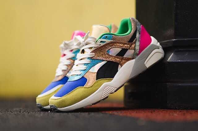r698 trinomic style polly pack male female high quality train shoes rainbow color 36-44 Two-tone shoes<br>