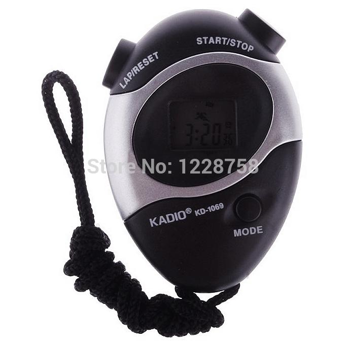 Гаджет  A6 Waterproof Second Chronograph Time Stopwatch Sport Counter Digital Odometer  T1233 P None Инструменты