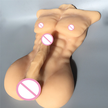 soft real silicone sex dolls Big Dick Doll for Women bendable cock lifelike man body sex doll for female for gay