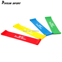 Pure Latex High Quality Resistance Workout Excercise Pilates Yoga Bands Loop Wrist Ankle Elastic belt Energy ring