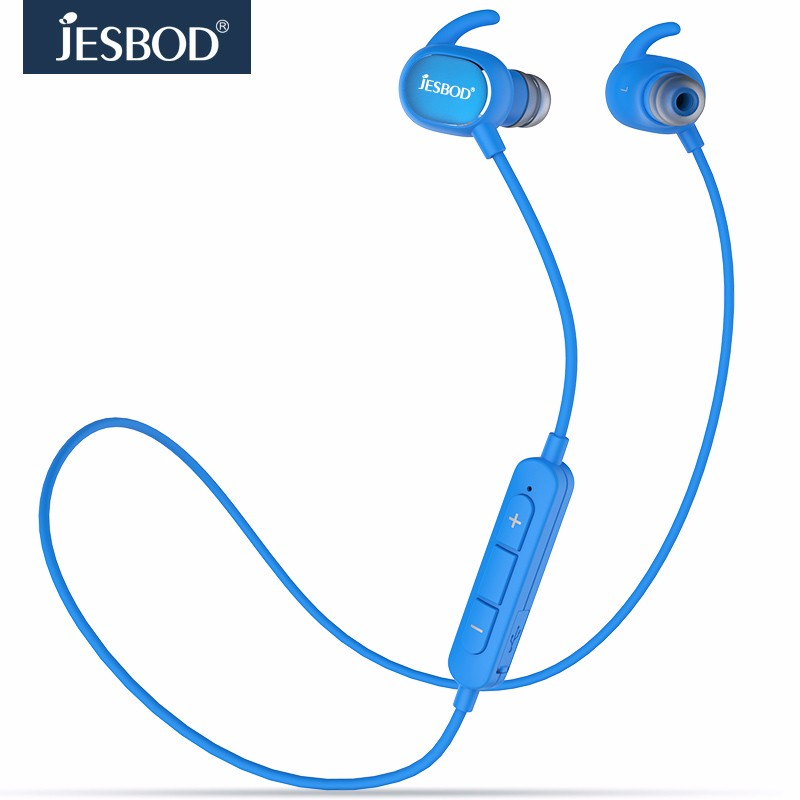 JESBOD QY19 AptX Stereo music MP3 Sport Wireless Bluetooth 4.1 Headset Earphone smart fone de ouvido Control Earbuds Mic Calls