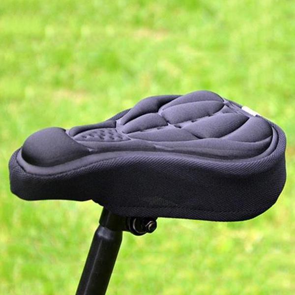 Седло велосипедное  6328 kansoon первоклассный воздухопроницаемое велосипедное седло силикагеля формой треугольника