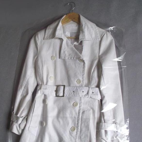 Free Shipping Hot sale 10pcs Clothes Suit Garment Dustproof Cover Transparent Plastic Storage Bag SGG#(China (Mainland))