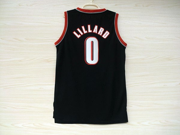 Wholesale Damian Lillard #0 Basketball Jersey New Meterial Rev 30 Embroidery Basketball Jerse Fast Free Shipping(China (Mainland))